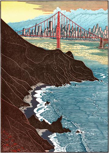 Golden Gate Sunset II