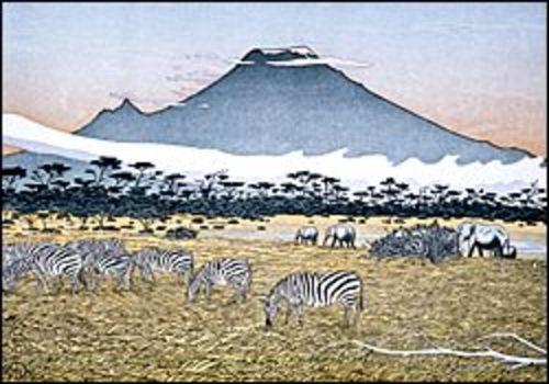 Mount Kilimanjaro from Amboselli
