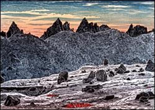 Chalfant Basin and Royce Peaks