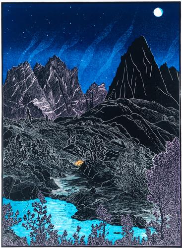 Isosceles Peak from Dusy Basin