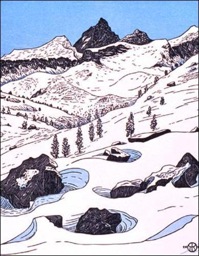 Junction Peak II (above Bubbs Creek)