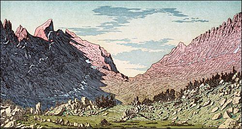 Matterhorn Peak from Spiller Canyon