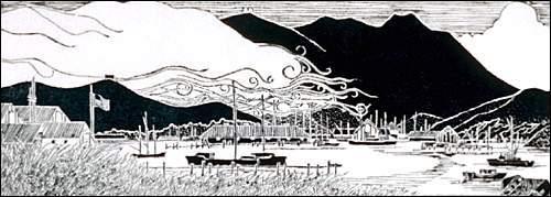 Mt. Tamalpais from Sausalito, 1973