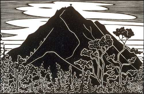 Mt. Tamalpais from Wolfe Grade
