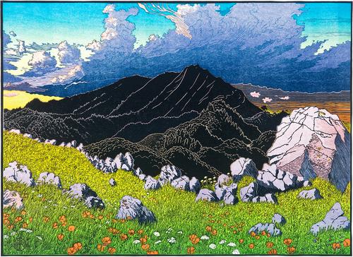 Mt. Tamalpais from Ring Mountain