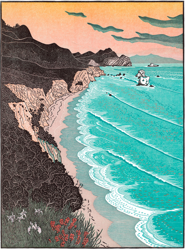 """Double Point from Kelham Beach (originally titled """"...from North of"""