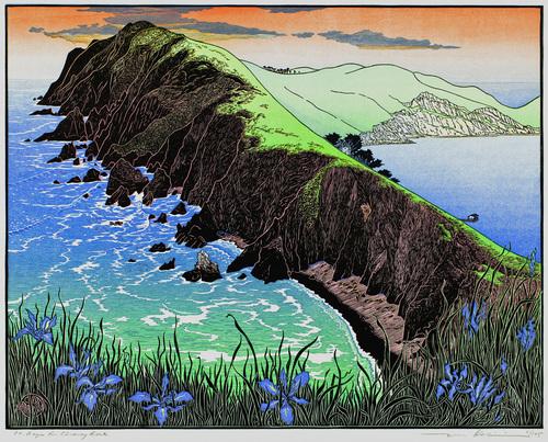 Point Reyes from Chimney Rock