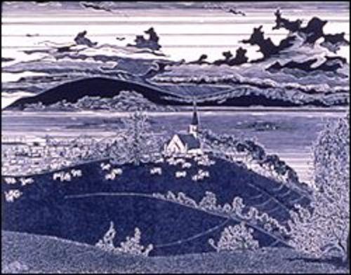 Santa Cruz from the Pogonip (1978)