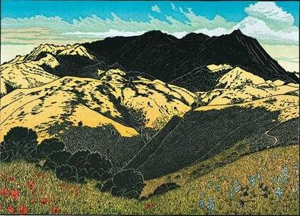 Mt. Tamalpais from above Green Gulch