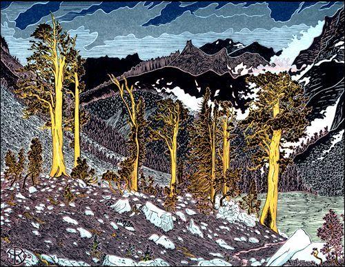 Big Arroyo, Foxtail Pines