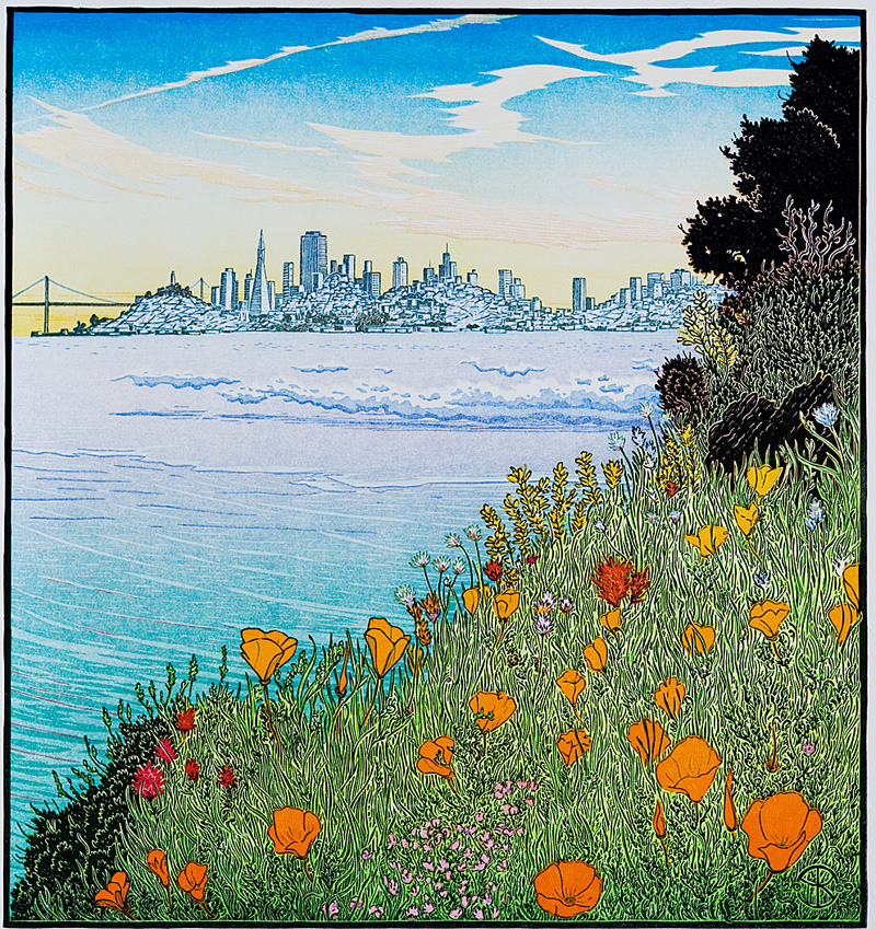The City from Yellow Bluff (Pt. Cavallo)