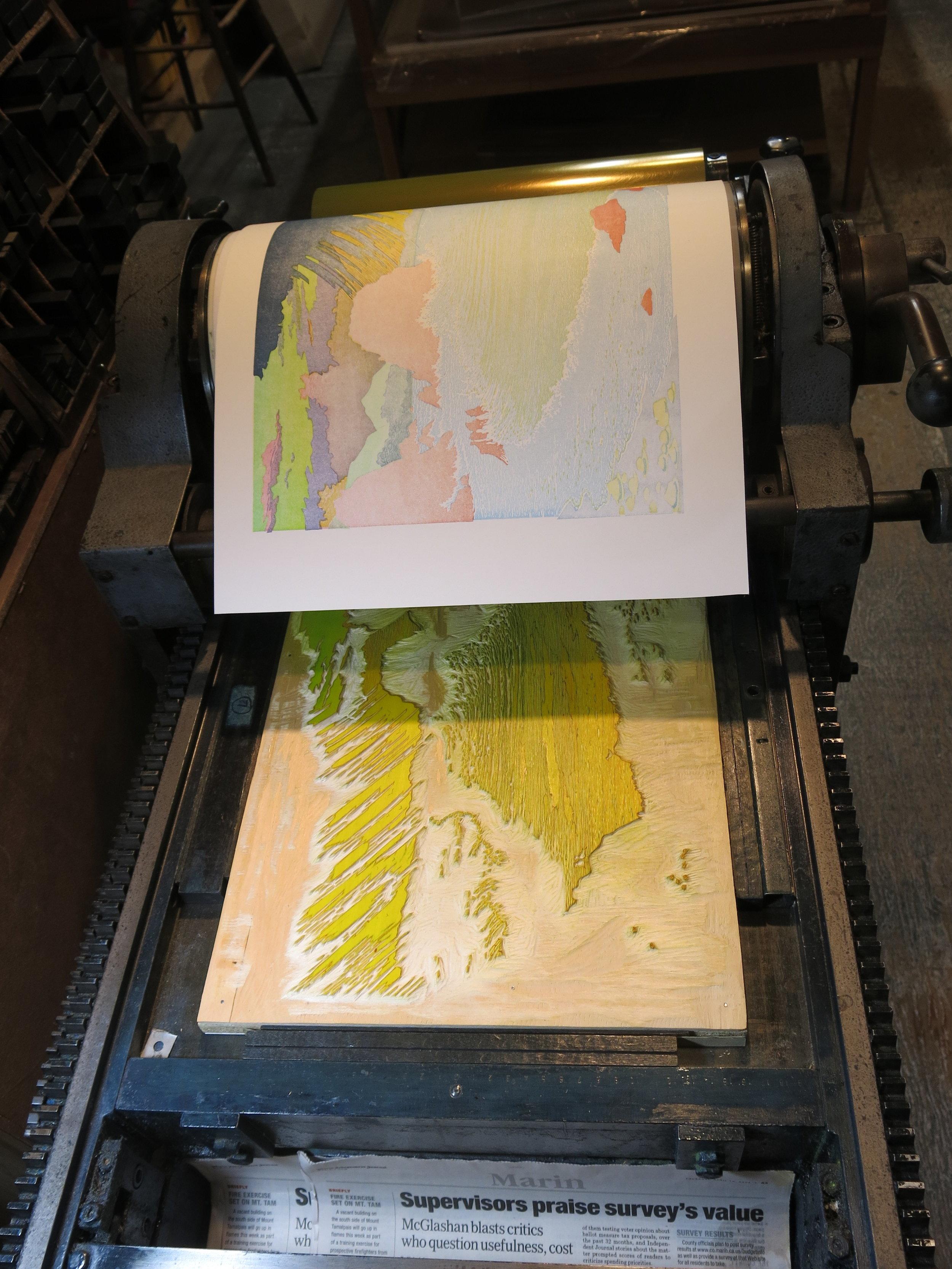printing first layer yellow block
