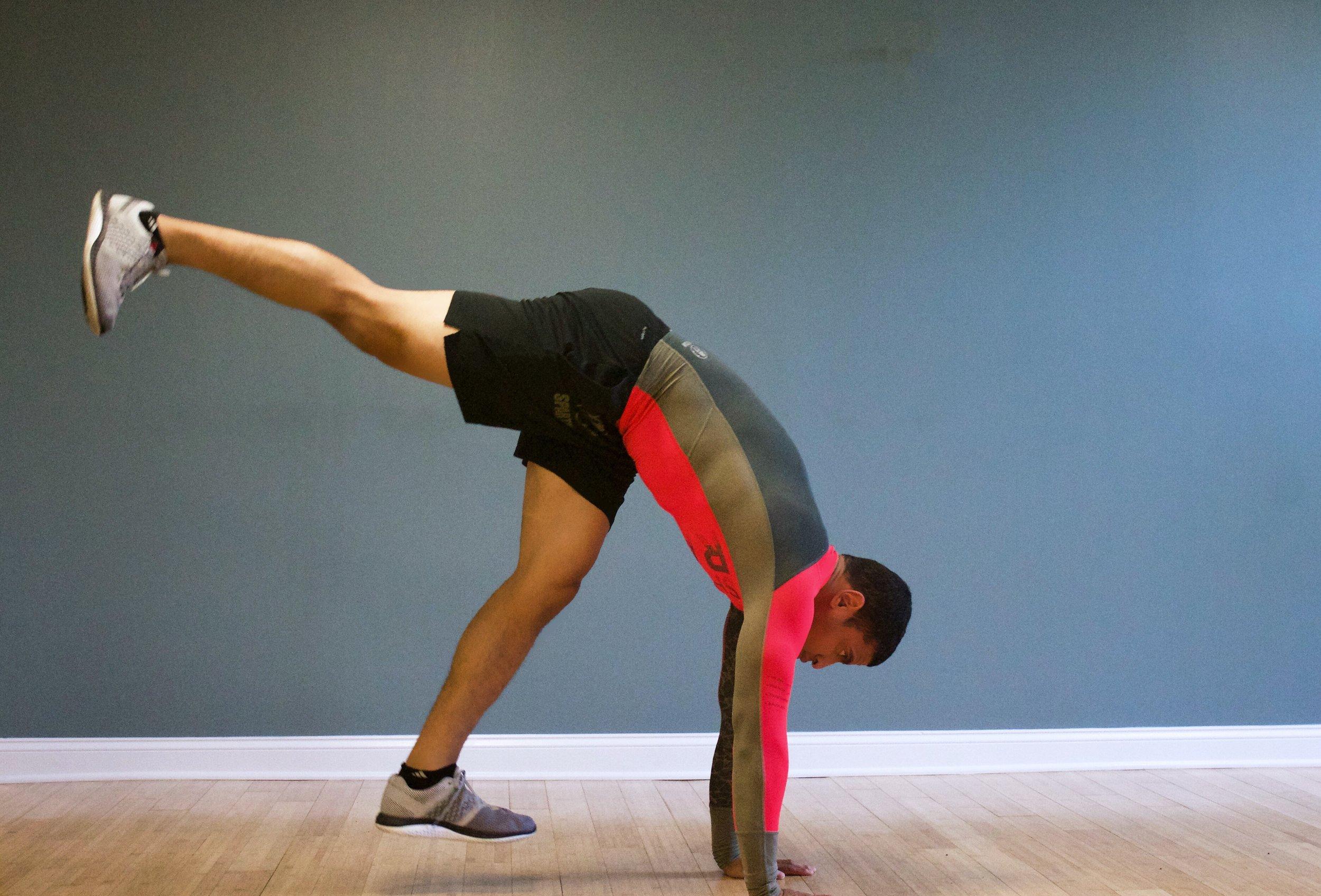 handstand-hop