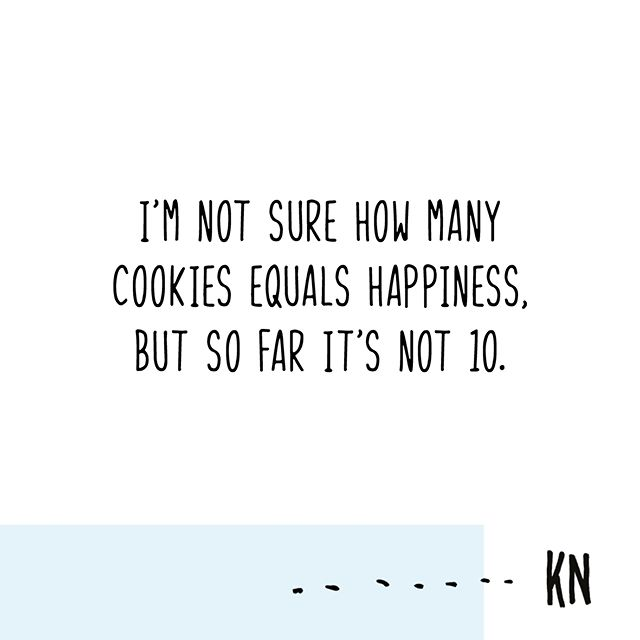 Can't stop, won't stop. Our cookies are completely guilt free. 👍🍘