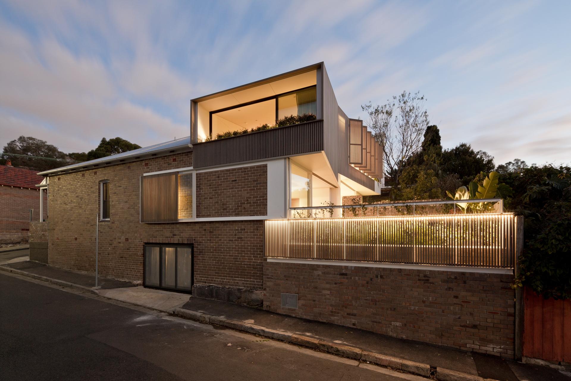 Balmain Houses by Benn & Penna