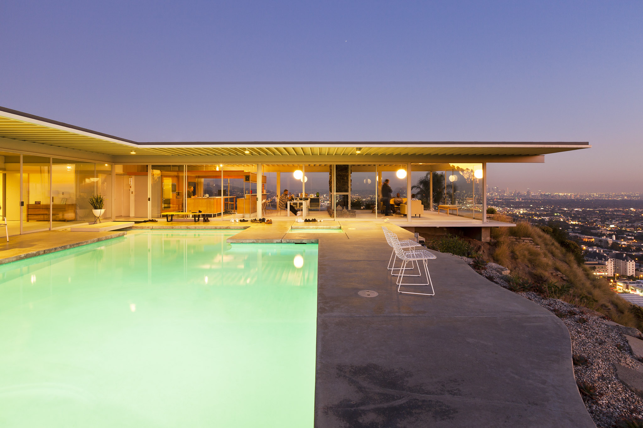 Stahl House by Pierre Koenig