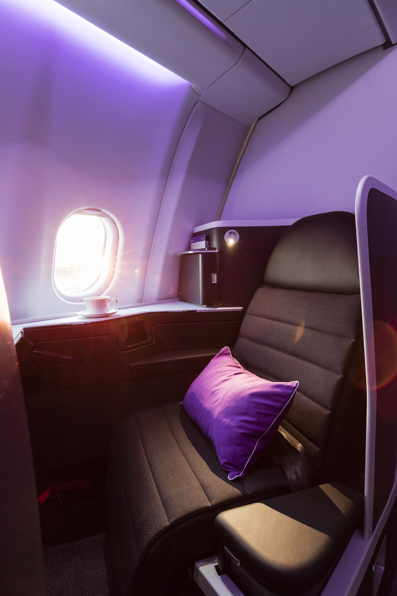 Virgin Australia Business Class for WISH Magazine