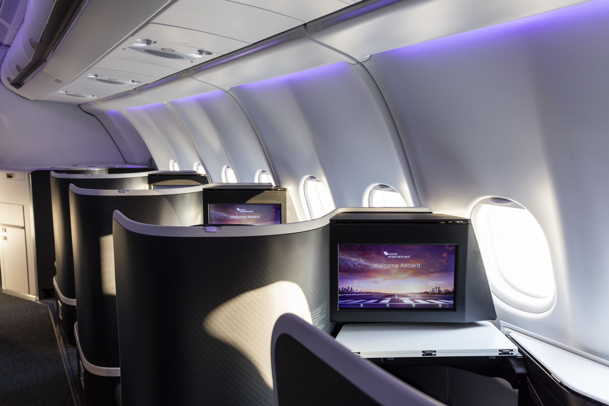 Virgin Australia Business Class for WISH Magazine
