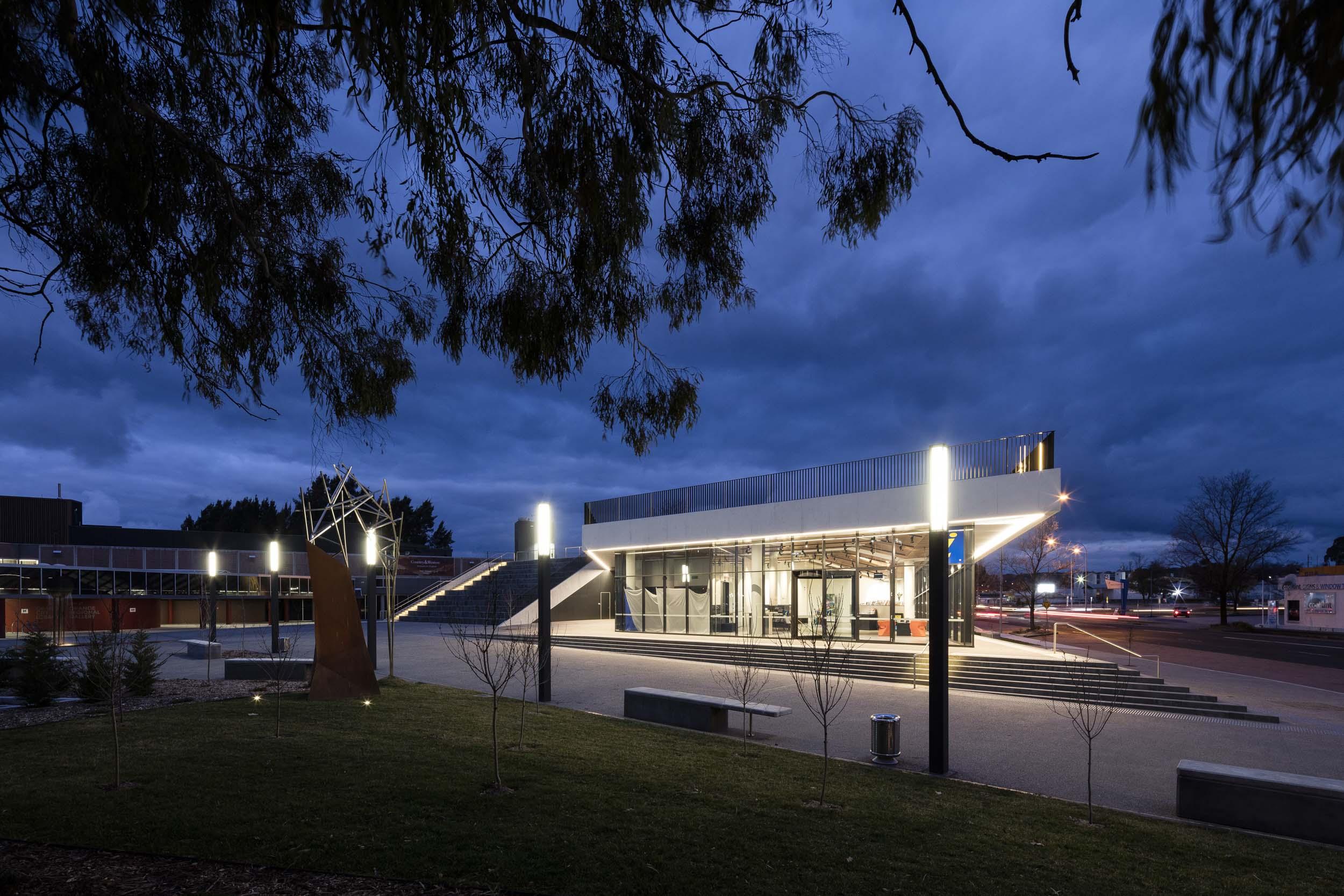 Orange Regional Museum by Crone Architects