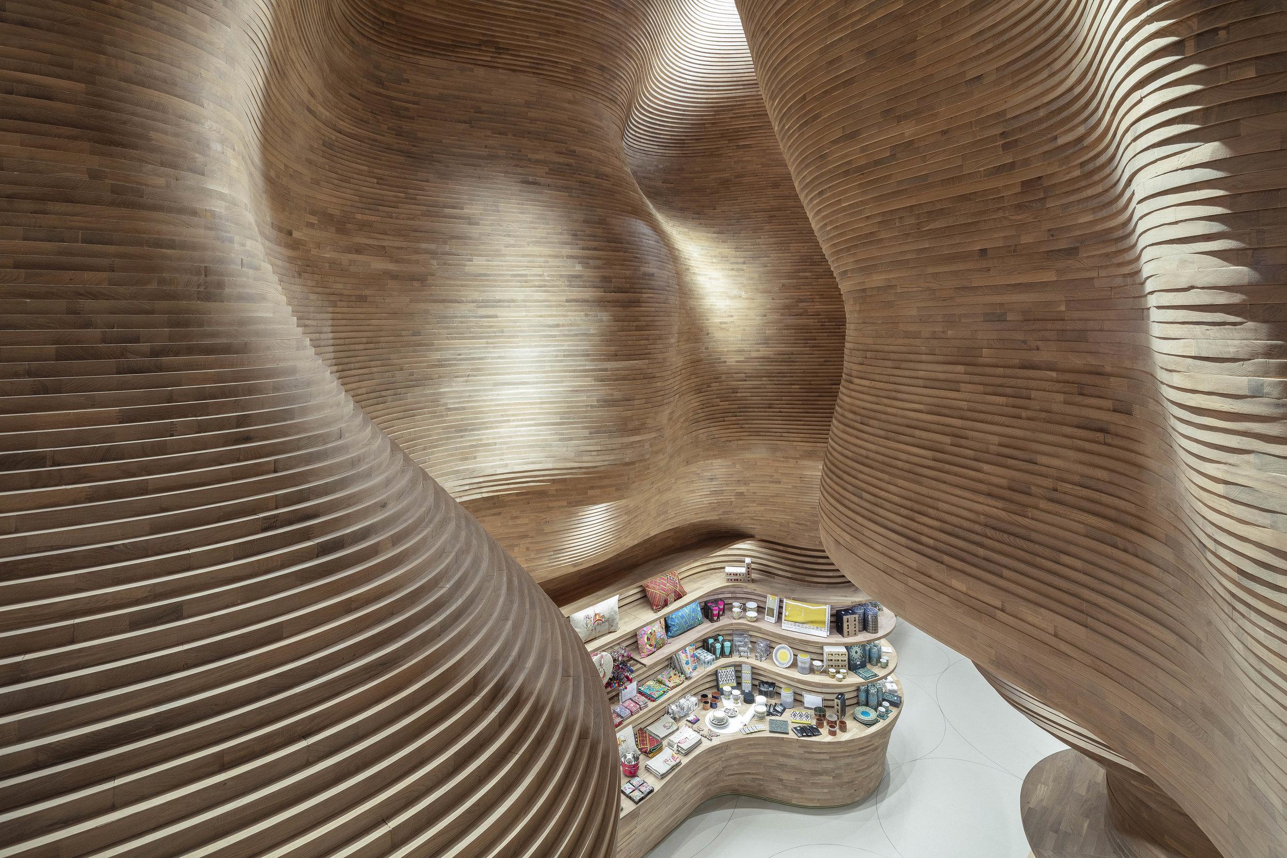 National Museum of Qatar Museum Store by Koichi Takada Architects