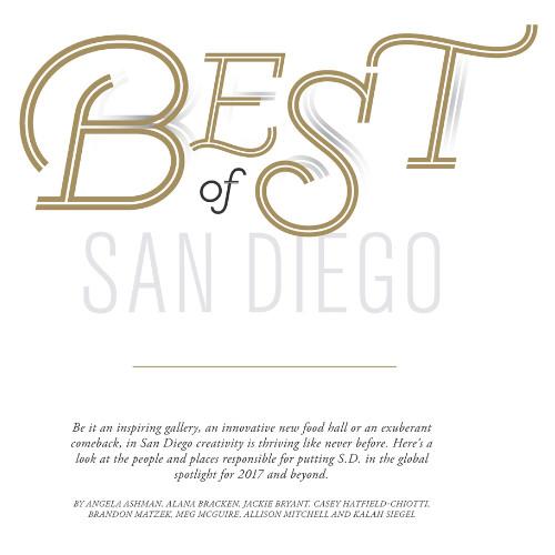 Modern Luxury San Diego Jan/Feb 2017