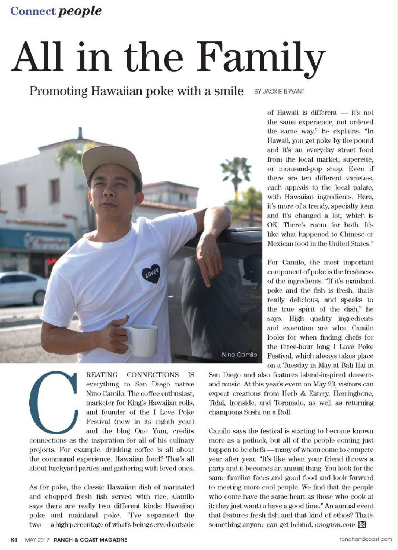 Ranch & Coast Magazine, May 2017