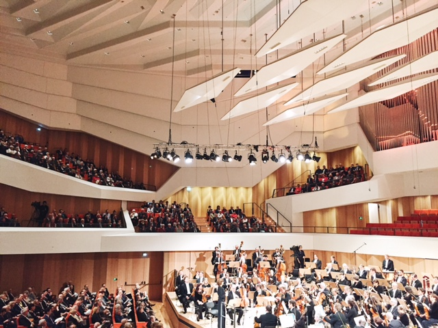 Dresden Philharmonic at the just reopened Kulturpalast Dresden