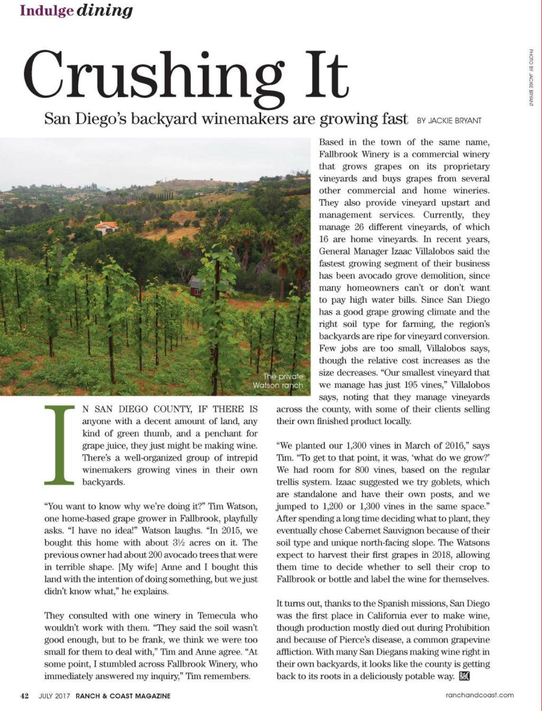 Ranch & Coast Magazine, July 2017
