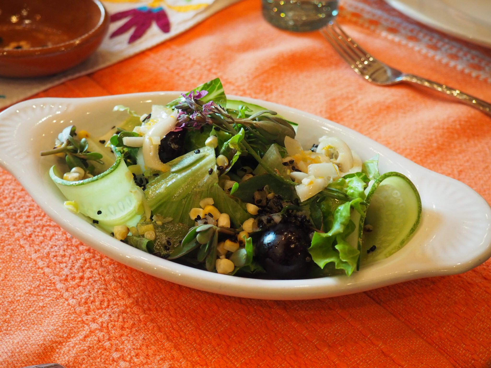 Garden salad. Photo by Jackie Bryant.