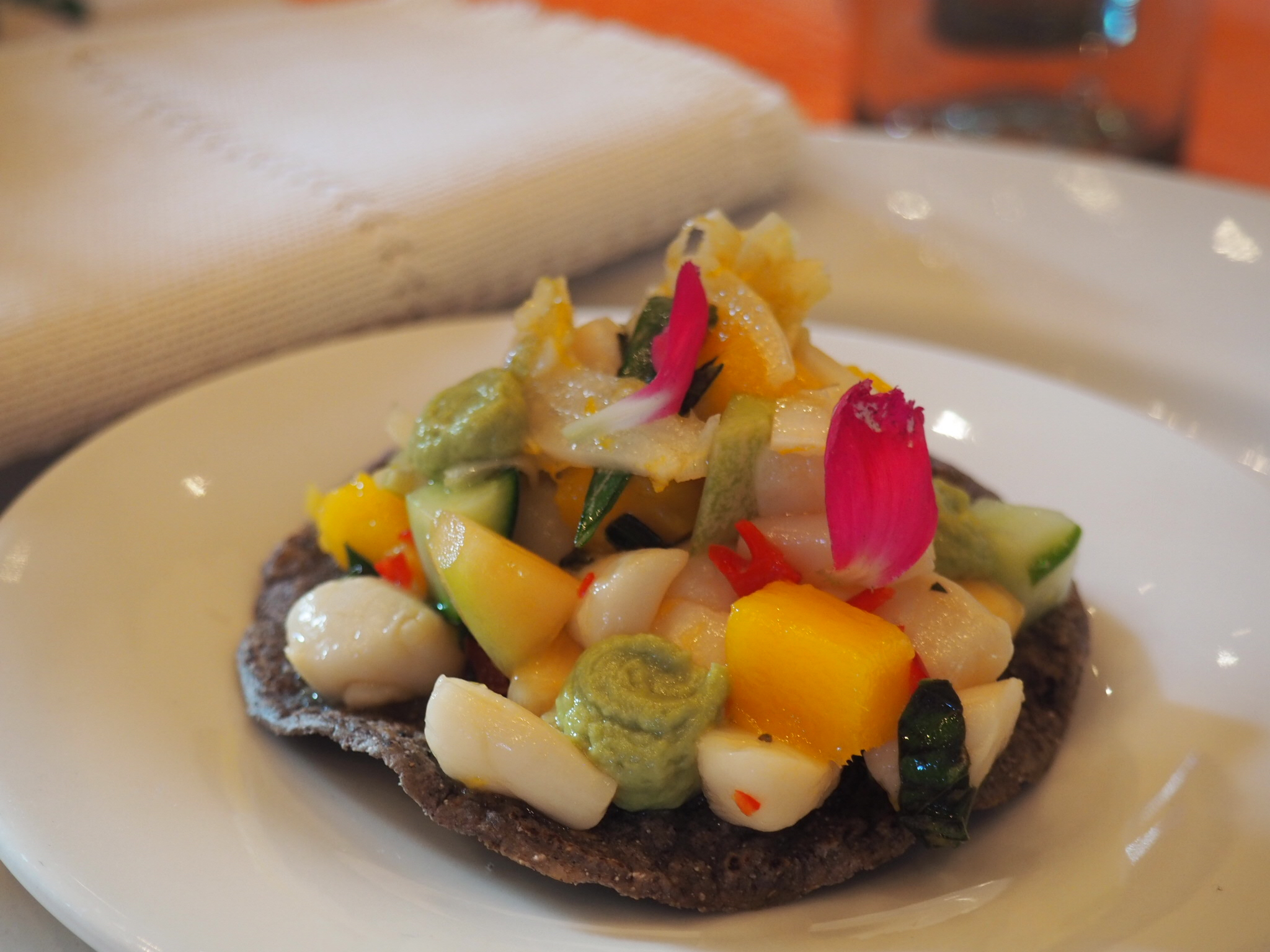 Callo de hacho tostada. Photo by Jackie Bryant.