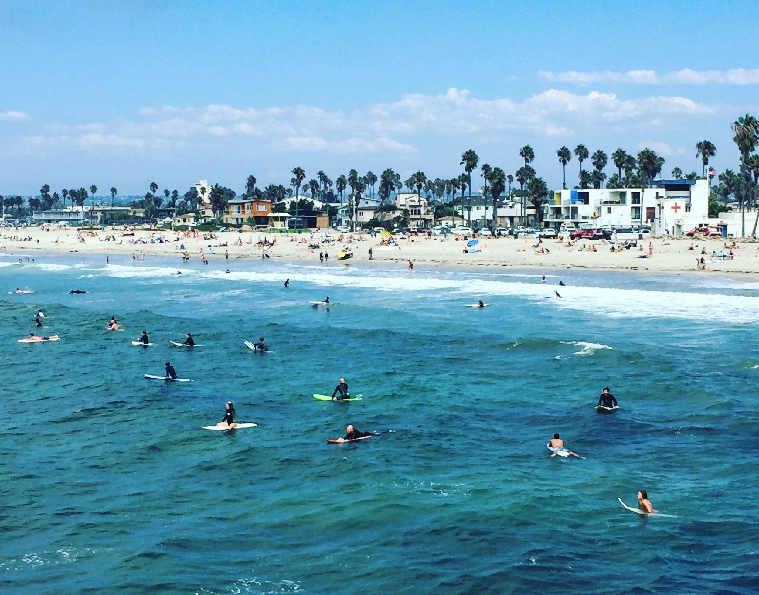 Beautiful Ocean Beach, San Diego! credit Jackie Bryant