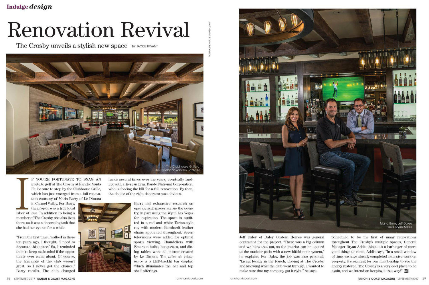 Ranch & Coast Magazine, September 2017