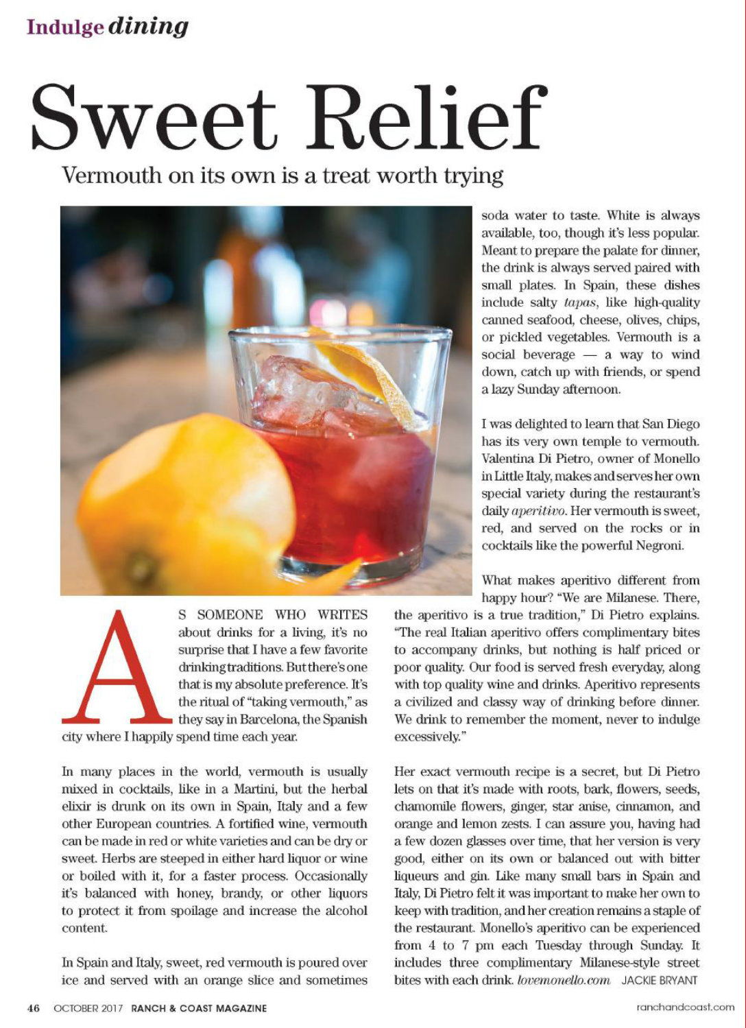 Ranch & Coast Magazine, October 2017