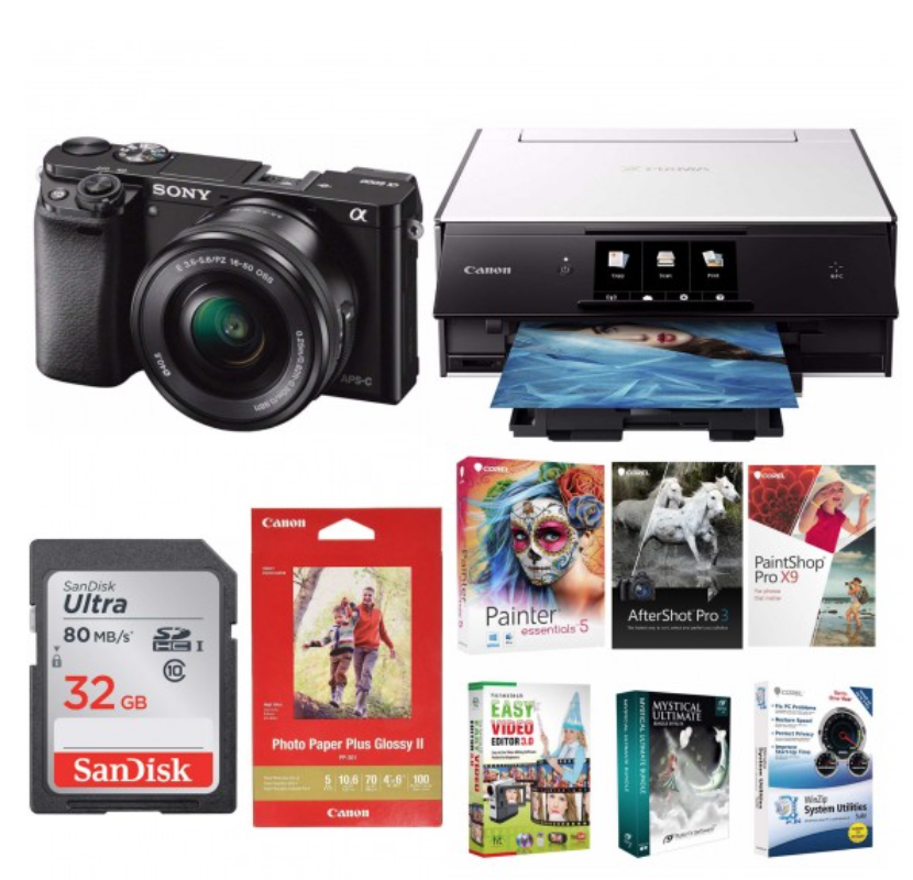 sony a6000 photo bundle for 500 black friday deal