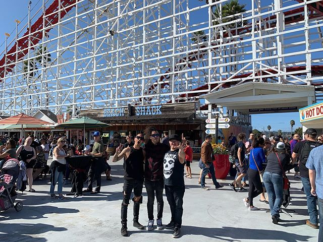 Thank you to the @beachboardwalk for having us perform today! #BeachBoardwalk It was so great to see all the POUNDERS Family!