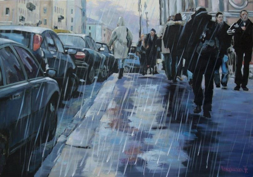 Дождь, х.м., 70х100, 2013.jpg