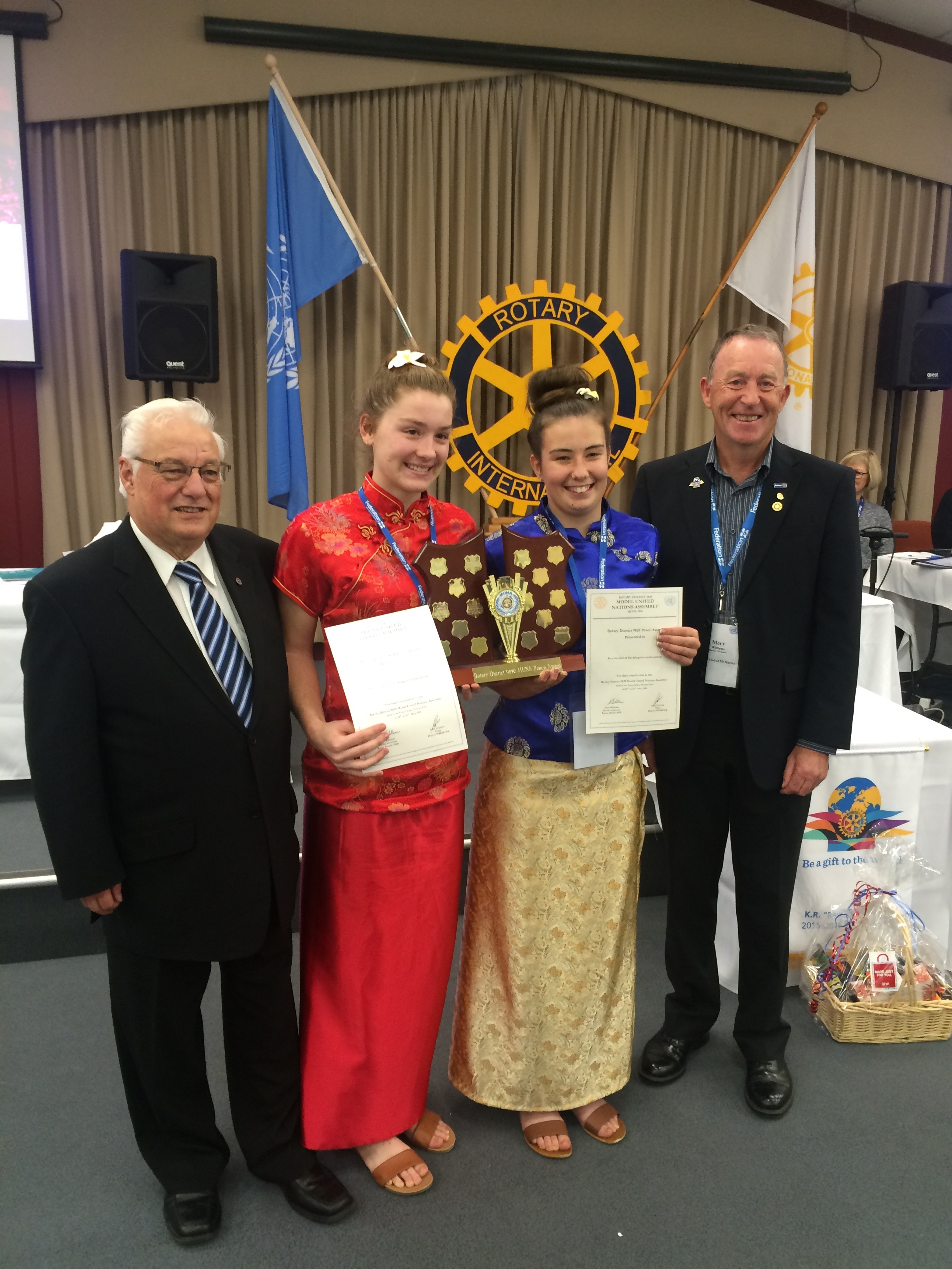Rotary District 9820 Peace Award