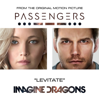 """Imagine Dragons - Levitate (From The Original Motion Picture """"Passengers"""")    Rock powerhouse Imagine Dragons wrote the anthemic 'Levitate' for the new motion picture 'Passengers"""". This bombastic song is bound to take over the stadiums all over the globe!"""