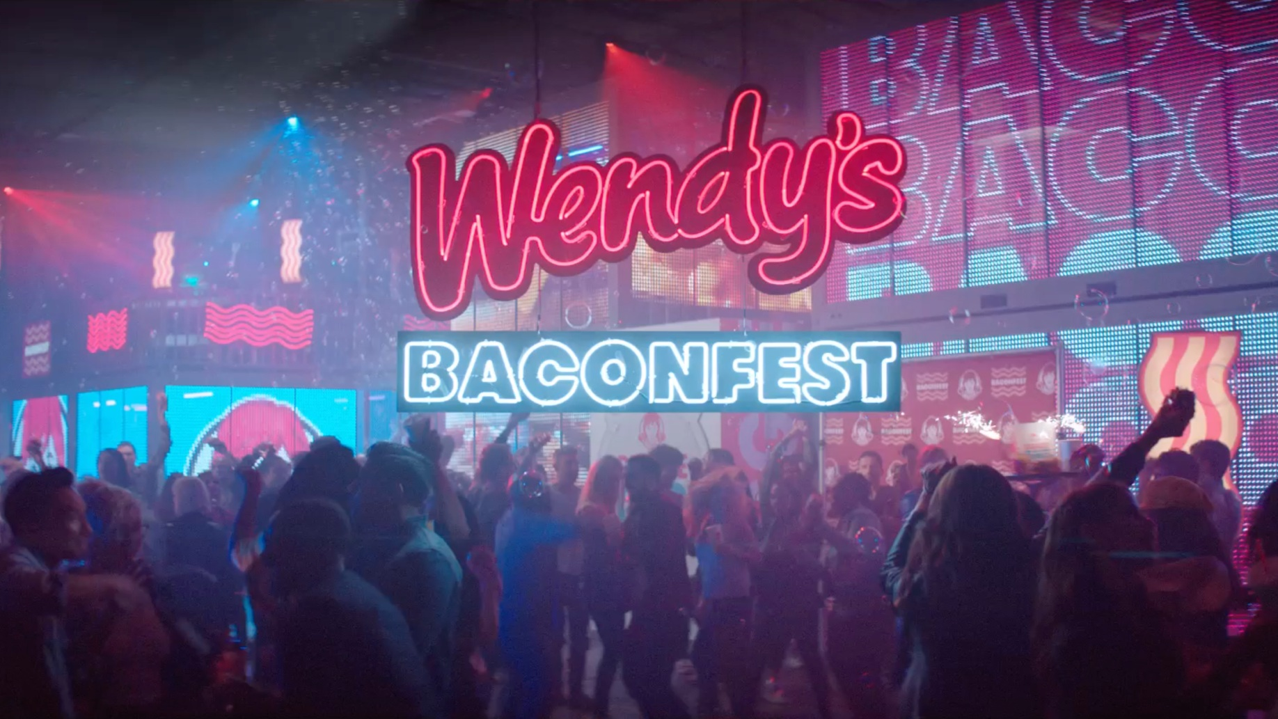 Wendy's 'Baconfest' -