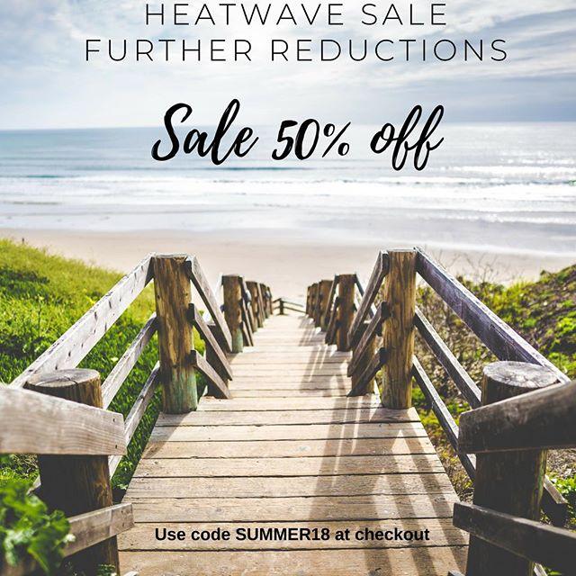 Further Reductions at #nardisbeach  50% off  Use SUMMER18 code at checkout #swimwearsale #designerswimwear #summersale