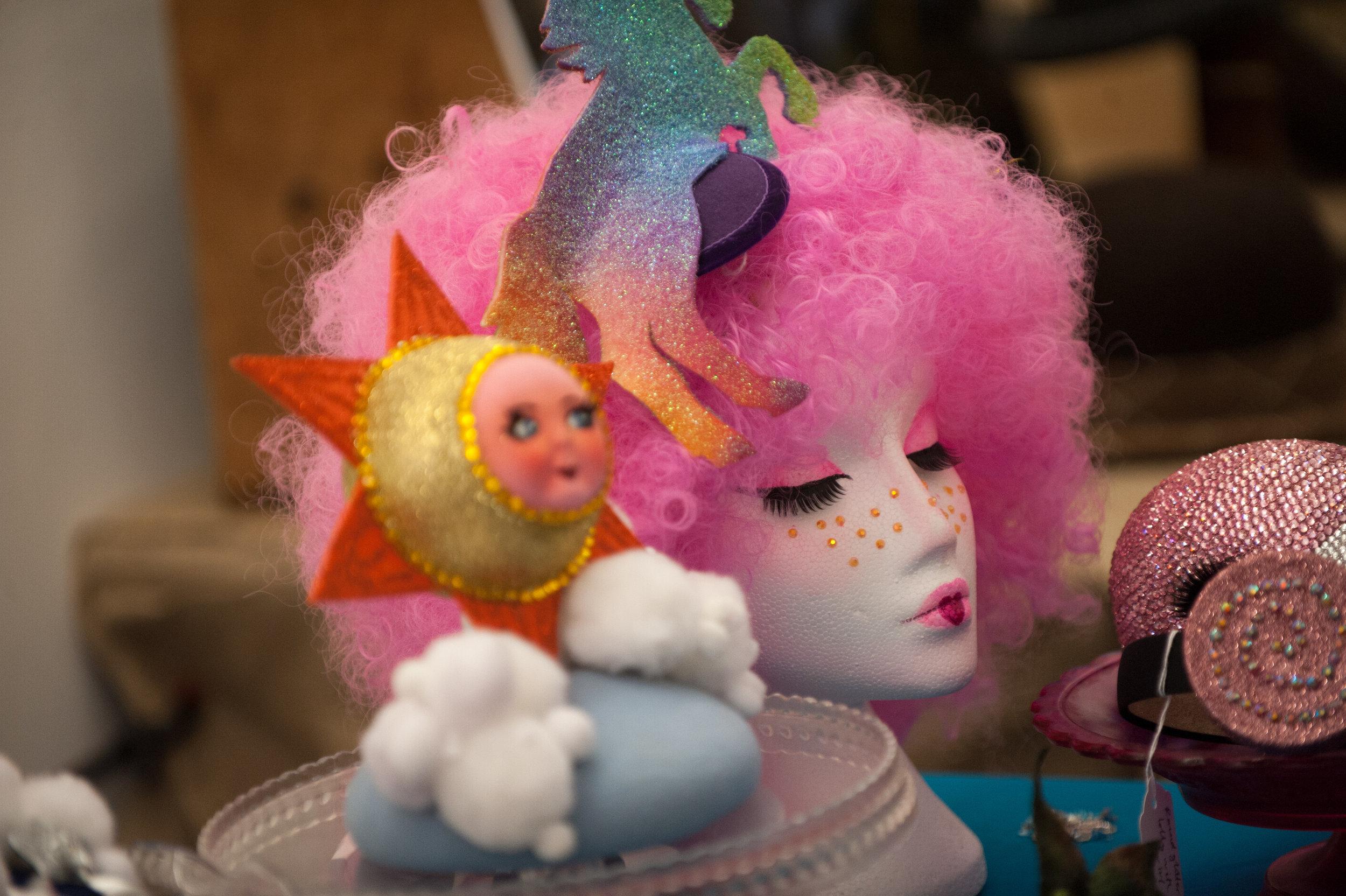 Headwear by  Pearls and Swine