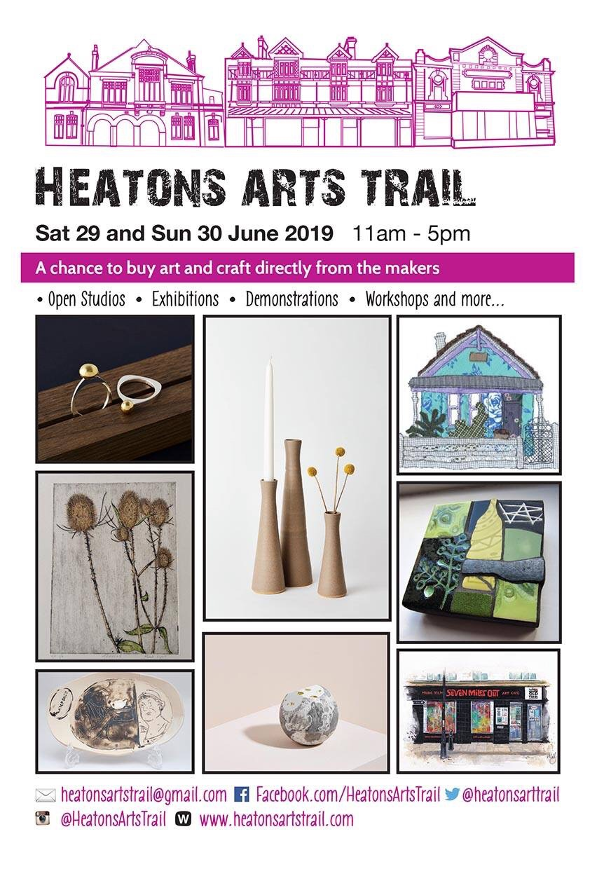 Last year the sun shone and the football was on! - This year myself and fellow Marketplace creatives will be showing as a collective at Venue 4:St Paul's Church in Heaton Moor.It will be a great opportunity to view and try on my latest designs plus I'll be having a clearance sale so a chance to bag a hand made Millinery bargain!It's on 29th and 30th June from 11-5pm.There's a map available here showing the venues plus there's cafes and art workshops en route so a great family day out.