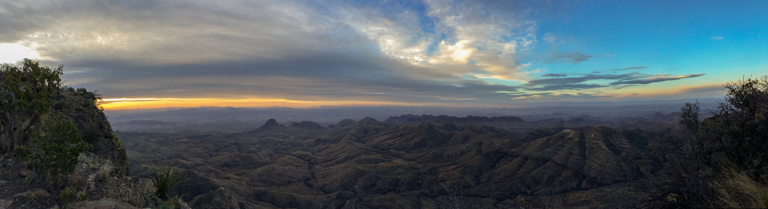 Amazing Sunrise from the South Rim Trail