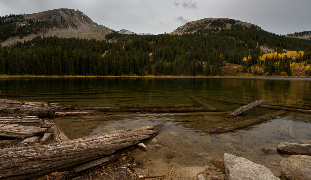 Lost Lake on a cloudy fall day  Lost Lake feeling moody