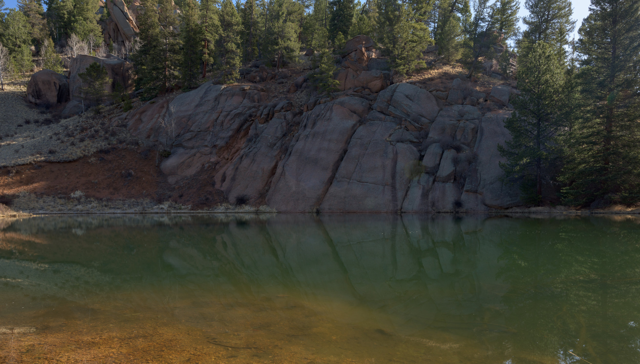 Rock Pond...I think I know where the name comes from