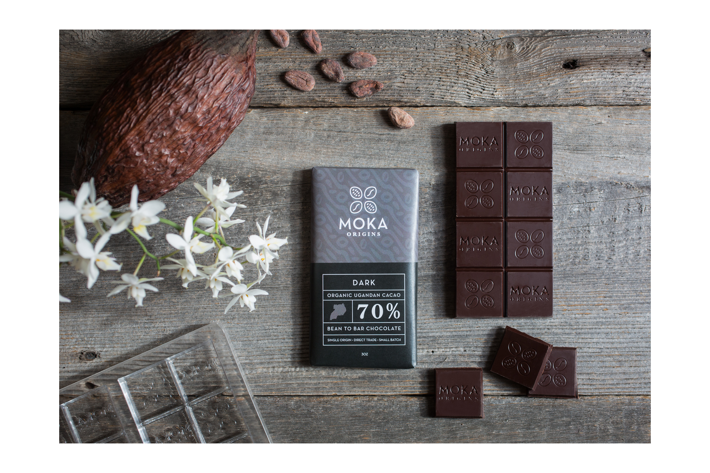 Moka Dark Chocolate Packaging