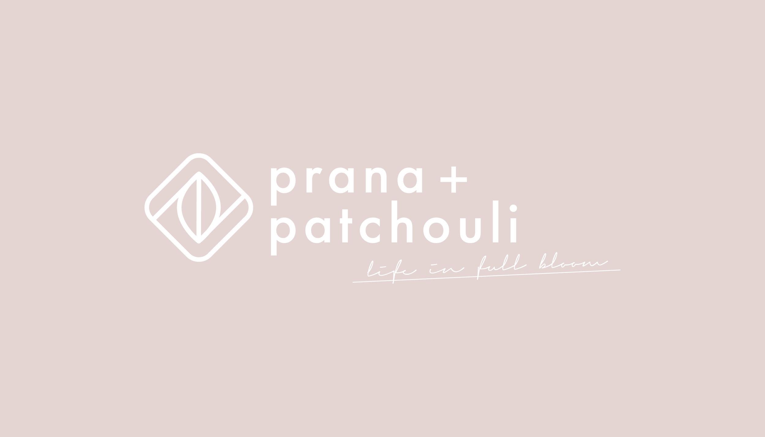 Prana & Patchouli Yoga Logo