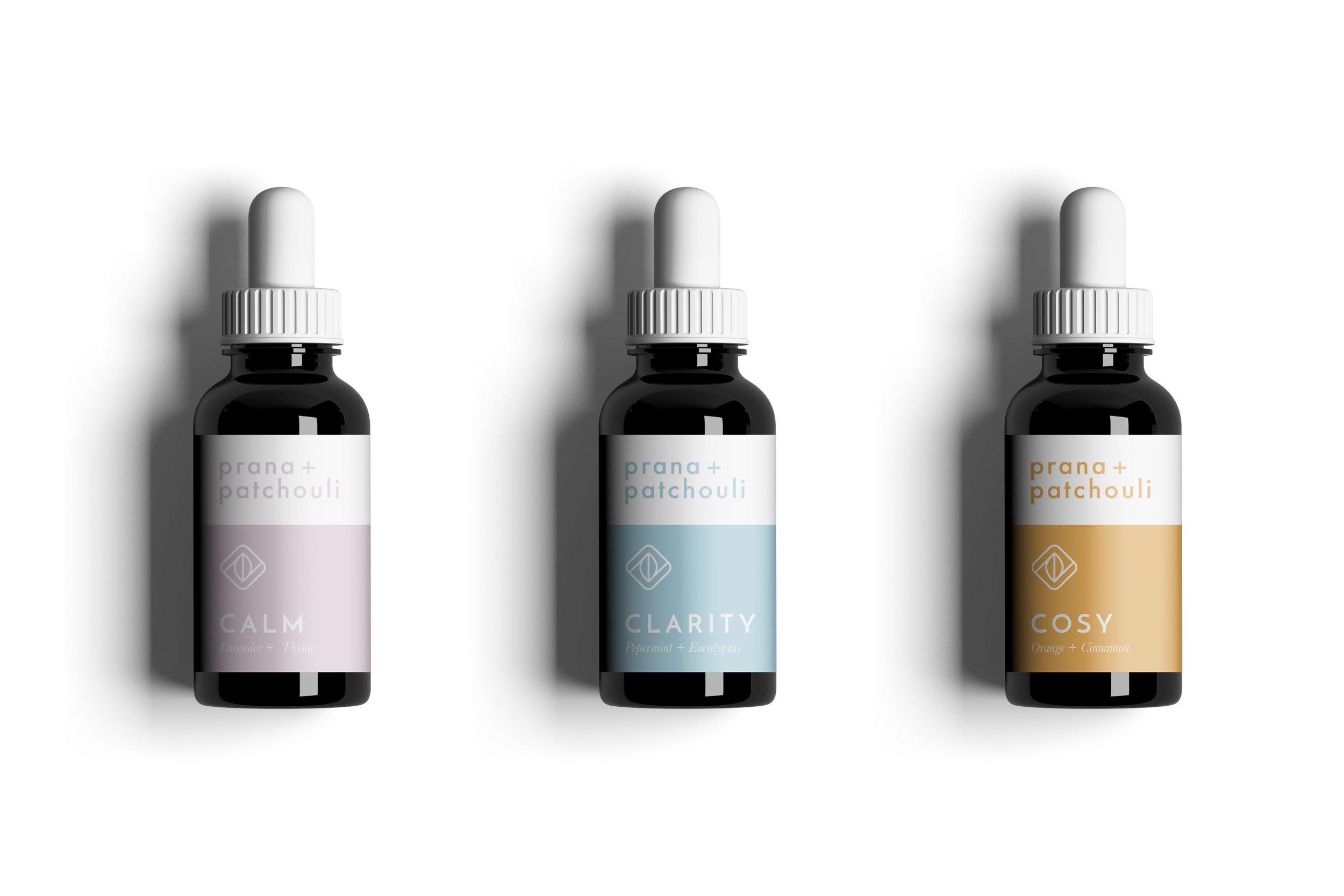 Prana & Patchouli Packaging Design