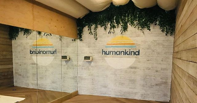 #motivationalmonday Great things come in small packages. Check out this beautiful space from the brand new @humankindspace in Brighton we've just completed installing. Launching early March!!! Check them out at www.humankind.co.uk #Designed and #Built by us #interiordesign #dressing #interiorfitout