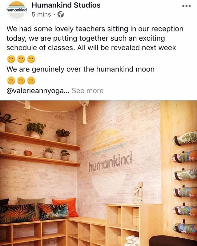 #regram Check out the brand new @humankindspace Studios. Designed and installed by us!  #interiordesign #construction #fitout #yogastudio